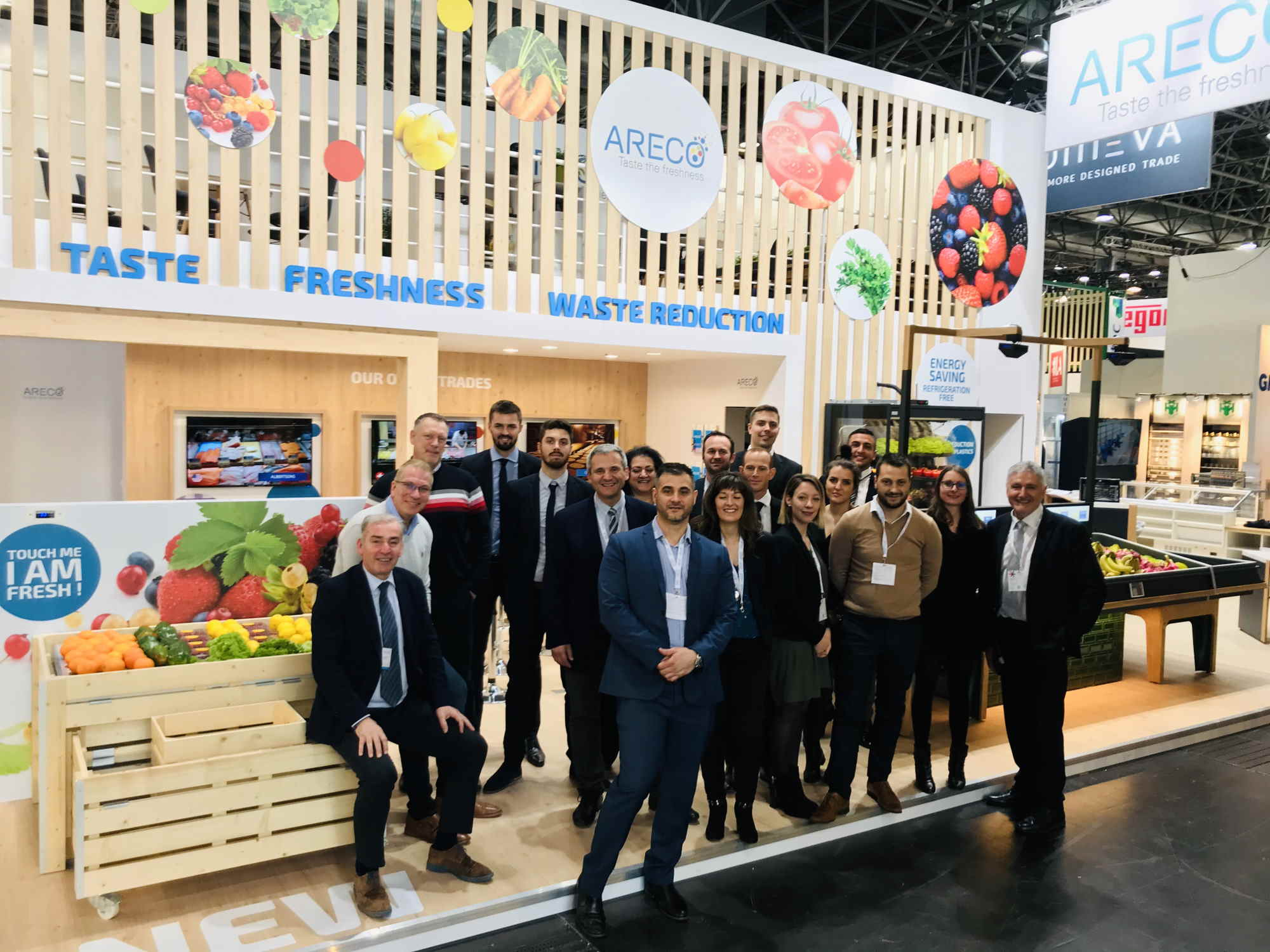 ARECO Team at Euroshop 2020